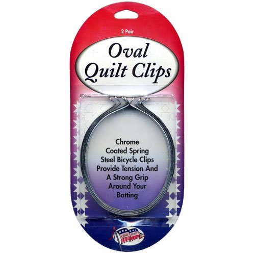 - Sullivans 2 Oval Quilt Clips pack of 6