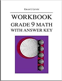 Amazon com: Workbook - Grade 9 Math with Answer Key