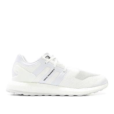 new style 3c6b2 2e6c4 Y-3 Men s Pureboost Sneakers, White White, 9 UK (10 D