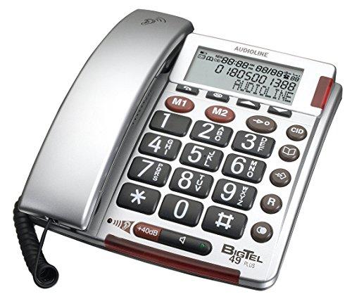 Audioline Big Tel 49 plus Großtastentelefon