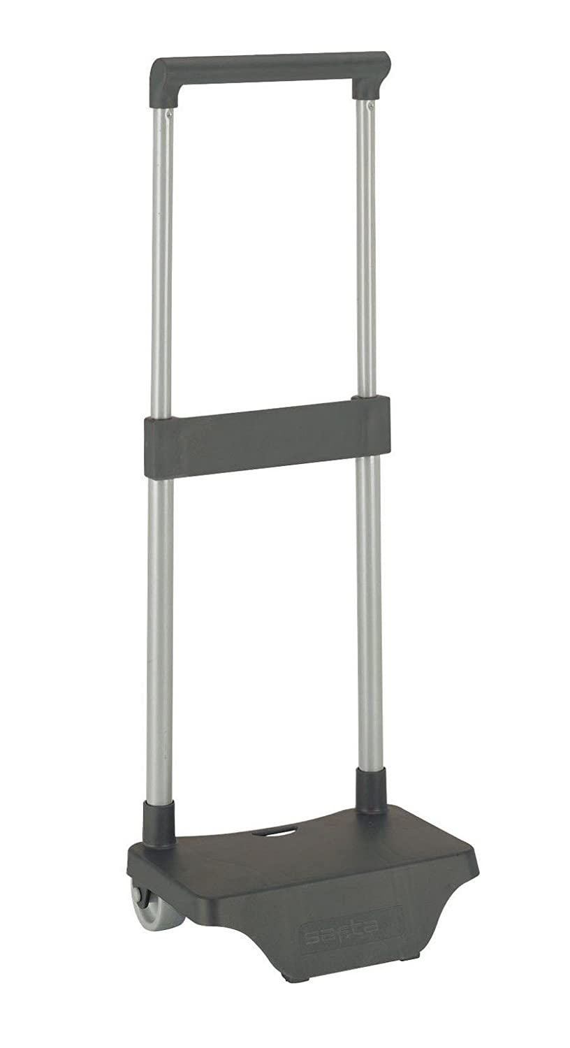 resistant with extractable grip handle and wheels foldable light Safta Trolley for school backpacks