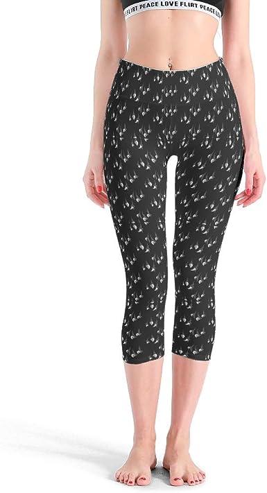 Mallas Elasticas Para Adolescentes Pantalones De Yoga Para Adelgazar Populares Para Correr Blanco Blanco M Amazon Es Ropa Y Accesorios