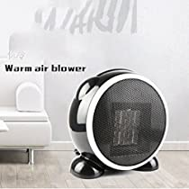 Space Heater Personal Heater Fan,Ceramic Heater Home Office Indoor Overheat Protection Adjustable Thermostat Tabletop Under-desk