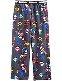 Super Mario Boy's Flannel Pajama Pants (Little Kid/Big Kid)