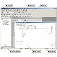 PLC Ladder Logic Programming Software with Training Course, Operating, Software Manuals, CD