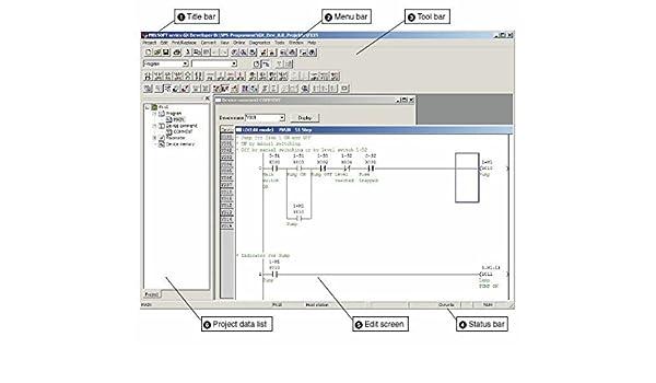 Amazon plc ladder logic programming software with training amazon plc ladder logic programming software with training course operating software manuals cd industrial scientific ccuart Gallery