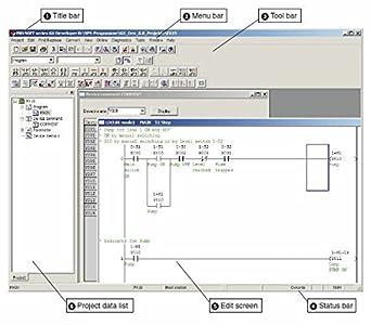 Amazon plc ladder logic programming software with training plc ladder logic programming software with training course operating software manuals cd ccuart Choice Image