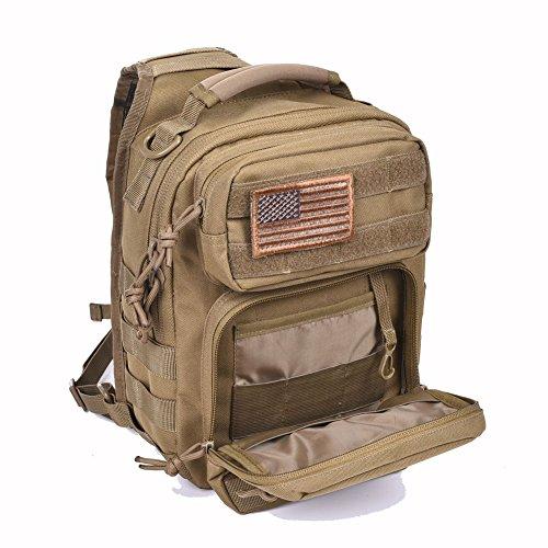 788084e17e7 Tactical Sling Bag Pack Military Rover Shoulder Sling Backpack Molle  Assault Range Bag Everyday Carry Diaper