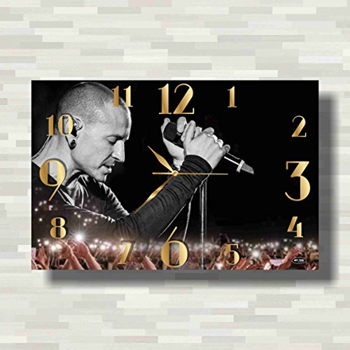 Clock Bennington (Art time production Chester Charles Bennington-Linkin Park 17