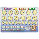 PAINLESS LEARNING PLACEMATS-Time to Tell Time-Placemat