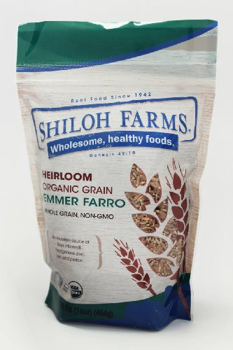 Shiloh Farms: Emmer Farro Grain 16 Oz (6 Pack) by Shiloh Farms