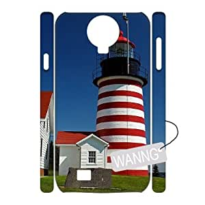 Lighthouse Samsung Galaxy S4 I9500 Hard Back 3D Case. Lighthouse Custom Case for Samsung Galaxy S4 I9500 at WANNG