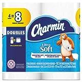 Charmin Toilet Paper 2 Ply, 142 Sheets Charmin Ultra Soft Bathroom Tissue (4)