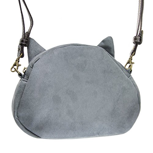 Umhängetasche, Handtascher Schultasche HenkeltascheTrage Tasche Reisetasche Alltagstasche Katze Klein