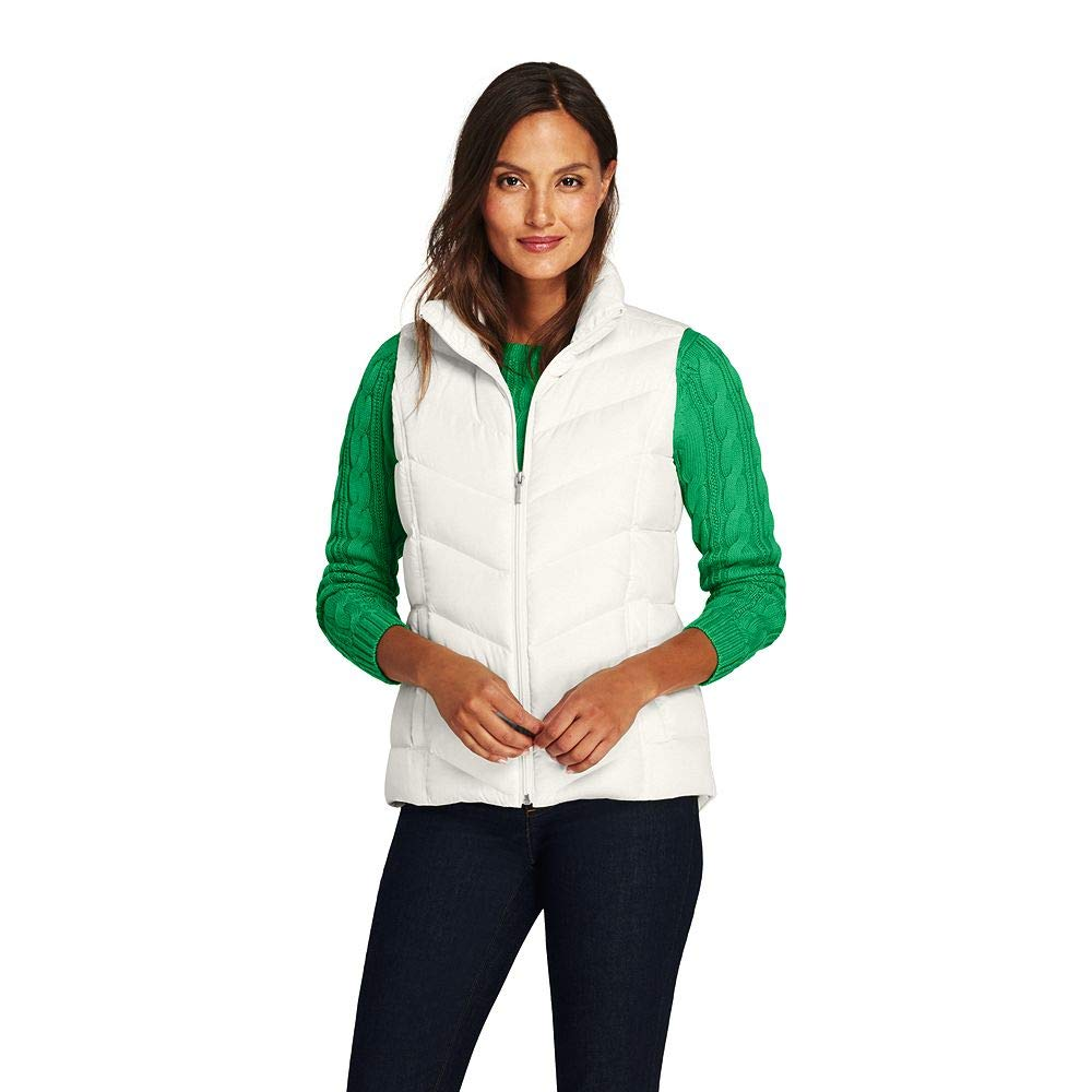 Lands' End Women's Down Vest classic