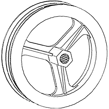 Amazon Com 537070r1 New Pulley Made For Case Ih Tractor Models 1086