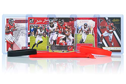 Julio Jones Football Cards Assorted (5) Bundle - Atlanta Falcons Trading Cards ()