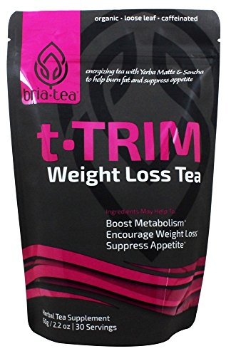 Trim Bunny - Bria T-TRIM Weight Loss Tea: Teatox to Boost Metabolism - Suppress Appetite - Extra Energy | Loose Leaf 30 Servings