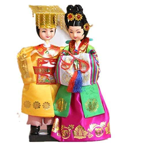 Amazon.com: Korean Beauty Hanbok Doll Korean Traditional