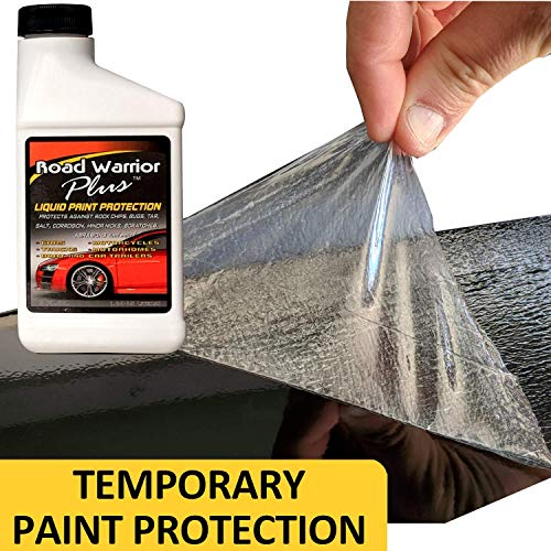 Road Warrior Plus Paint Protection Film for Rock Chips & Bugs - 8oz kit - Free APPLICATOR