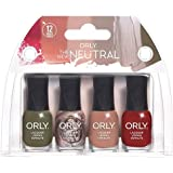 ORLY Lacquer - The New Neutral Collection - 4 Pack Mini - 5.3 ml/.18 oz Each