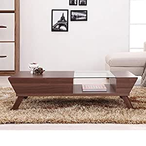 247SHOPATHOME Ynj-CT1015WNT-A1 Coffee-Tables, Brown