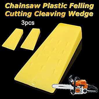 3Pcs Tree Felling 5Inch Wedges for Logging Falling Cutting Cleaving Chainsaw