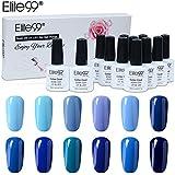 Elite99 Gel Nail Polish 12PCS Kit Nude Series 10ML Soak Off UV LED Gel Nail Varnish Gloss Manicure Lacquer 12 Colours Set Nail Art Manicure Starter Kit Salon Decor Gift Set