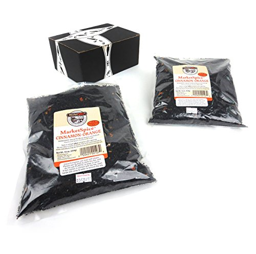 MarketSpice Cinnamon Orange Tea, 1 lb Bags in a BlackTie Box (Pack of - Tea Orange Cinnamon