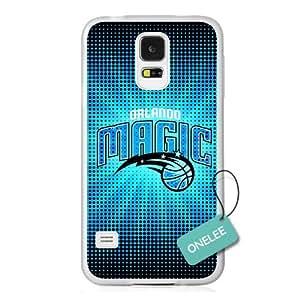 Onelee(TM) - NBA Team Orlando Magic Logo Samsung Galaxy S5 Case & Cover - Transparent plastic 1