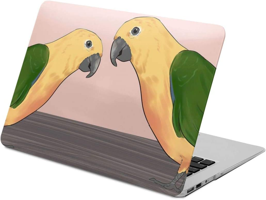 Parrots Laptop Case Dust-Proof Laptop Case Cover Fashion Fully Protect Computer Plastic Case Hard Shell Cover Laptop Sleeve Case for air13