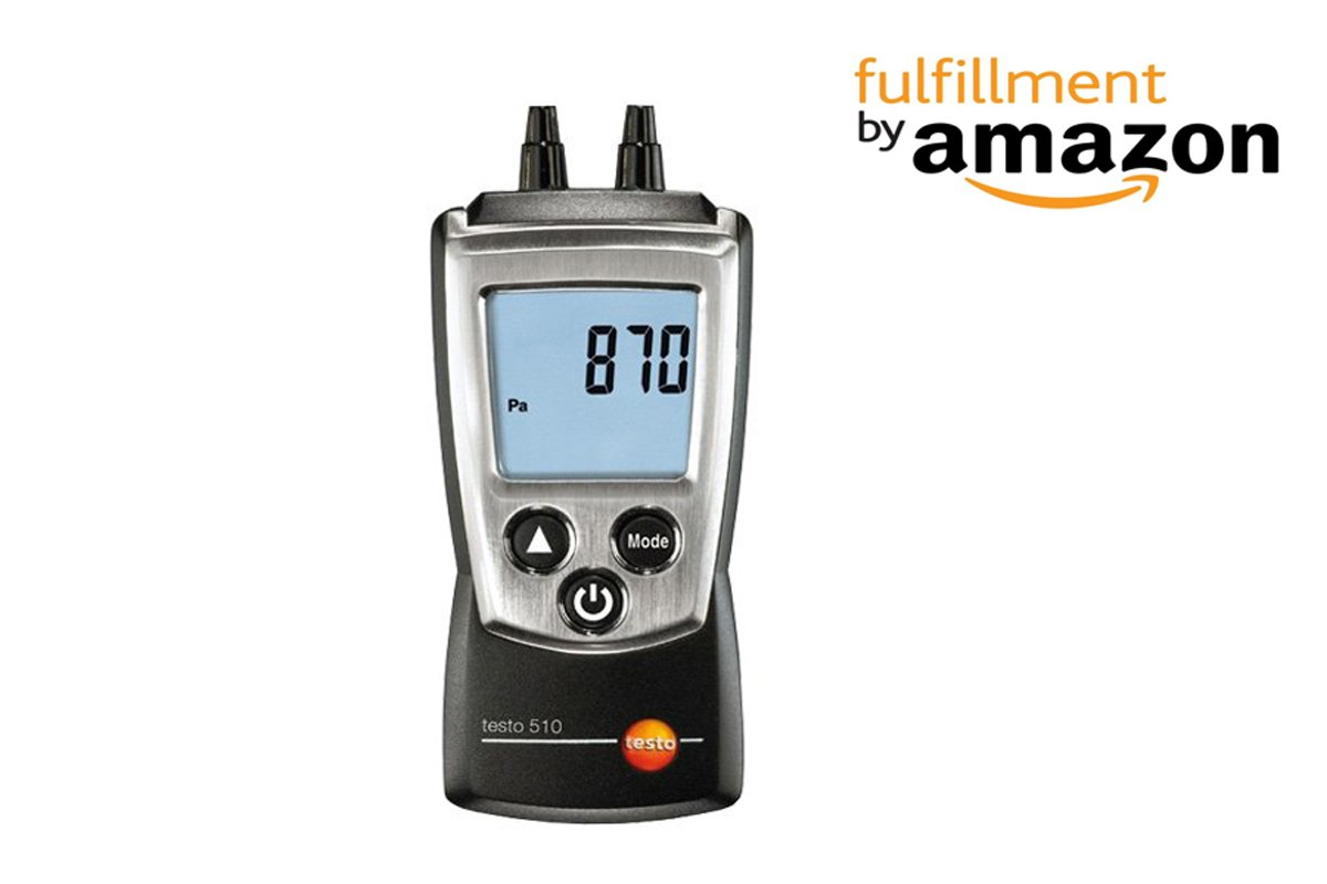 Testo 510 Portable Differential Pressure Indicator