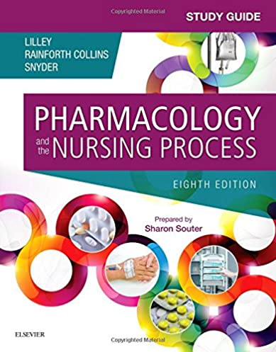 study guide for pharmacology and the nursing process 9780323371346 rh amazon com basic pharmacology for nurses 17th edition study guide answer key basic pharmacology for nurses study guide answer key