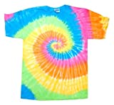 Tie Dye Mania Adult T- Shirt Eternity Large