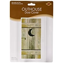 Beistle 57126 Outhouse Door Cover, 30-Inch by 5-Feet