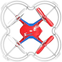 Fx-4v 2.4G 5CH RC Quadcopter Drone w/ Voice Control 3D Flips RTF Red