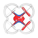 S AFSTAR Safstar Voice Control FX-4V Quadcopter UFO RTF Remote Control Helicopter Toys (FX-4V Red)
