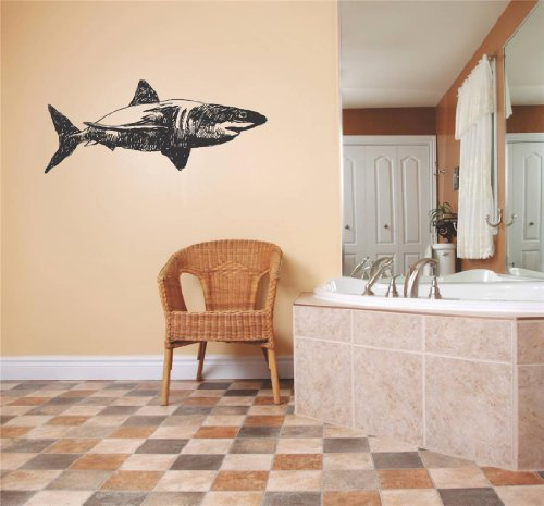 Cheap  Top Selling Decals - Prices Reduced : Shark Great White Tiger Blue..