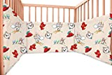 Baby Tommy Cat / SoulBedroom Cotton Cot Bumper Pad Half (210x40 cm)