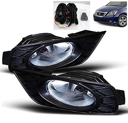 Amazon.com: ZMAUTOPARTS Honda Odyssey OEM Sty Driving Fog Lights Clear: Automotive