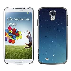 Un ejército de estrellas - Metal de aluminio y de plástico duro Caja del teléfono - Negro - Samsung Galaxy S4