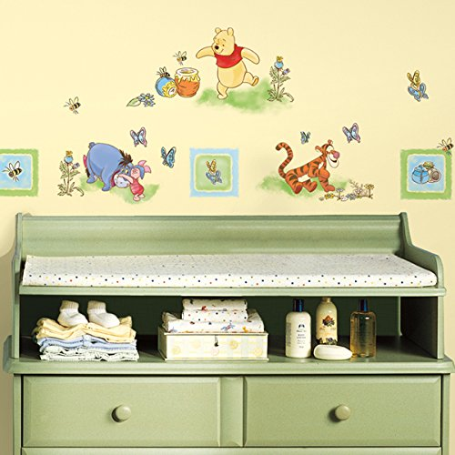 Roommates Winnie the Pooh Toddler Peel & Stick Wall Decals ...