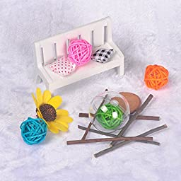 Seekingtag Clear DIY Fillable Plastic Ball Craft Ornaments 50 Mm – Pack of 12