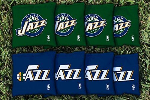 NBA Replacement All Weather Cornhole Bag Set NBA Team: Utah Jazz