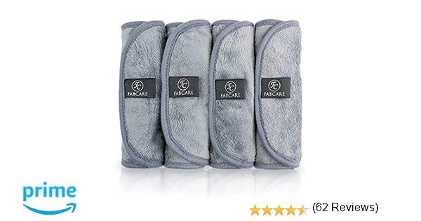 Toallitas Desmaquillantes Microfibra (4 Piezas) - Lavable y ...