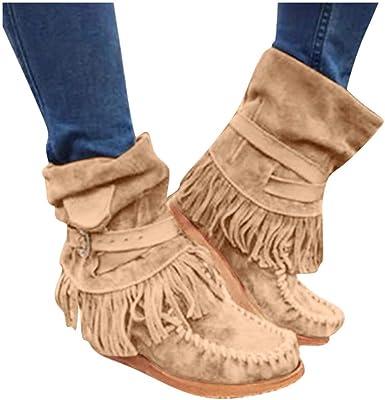 Women's Ankle Boots,Dainzuy Western
