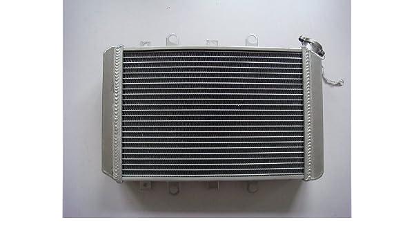 ATV Aluminum Radiator Yamaha Grizzly 660 4x4 2002 2003 2004 2005 2006 2007 2008