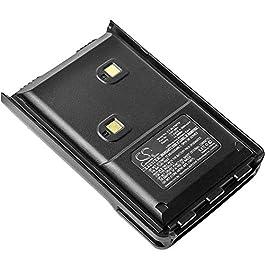 Battery 2000mAh Replacement for ALINCO DJ-10, DJ-100, DJ-289G, ALINCO EBP-88H