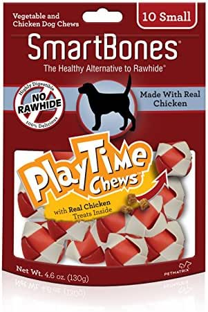 Dog Treats: SmartBones PlayTime Chews Chicken