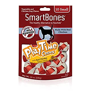 Smart Bones Play Time Chicken Dog Chew, Small, 10 pieces/pack